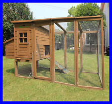 Chicken Coops Imperial® Blenheim 8ft/2.5m Chicken Coop Mesh Roof Large Hen House