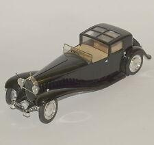 Solido Rarität Solido Bugatti Royale Oldimer in schwarz lackiert, OVP, 1:18, 031