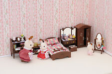 Sylvanian Families 2663 Luxury Master Bedroom Furniture Set NEU & OVP