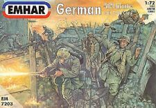 EMHAR 7203 - German (WWI) Infantry and Tank Crew          1:72 Figures-Wargaming
