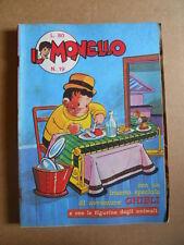 IL MONELLO n°19 1971 con inserto GHIBLI + Figurine ANIMALI [G422]