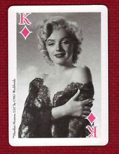 MARILYN MONROE Star Playing Card King of Diamonds CMG Worldwide