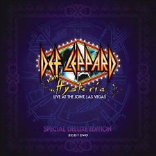 Viva! Hysteria: Live at the Joint, Las Vegas [Box] by Def Leppard CDs & DVD LN