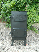 WOODBURNING STOVE LOG BURNER GREENHOUSE WORKSHOP PATIO TENT GARAGE SHED LOG CABI