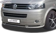 RDX Frontspoilerlippe VW T5 Facelift (2009+)