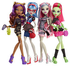 Monster High Ghouls Night Out 4 Doll Set Sammlerpuppe SELTEN