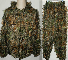 XL 3D Sniper Ghillie Suit Camo Woodland Suits Camouflage Forest Hunting Poncho