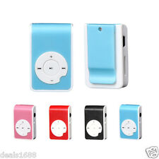 Mini Clip USB Portable Sport Music MP3 Player Support 32GB Micro SD TF Card New