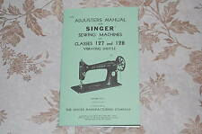Timing Adjusting Adjusters Manual CD to Service Singer 127 & 128 Sewing Machines