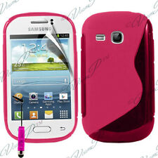 Case Cover TPU Silicone Samsung Galaxy Young S6310 Duos S6312 GT-S6310L