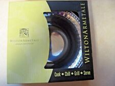 Wilton Armetale Flutes and Pearls Small Round Bowl - NEW