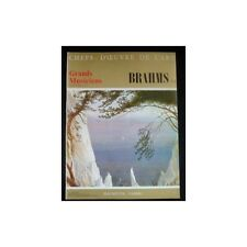 CHEFS-D'OEUVRE de l'ART MUSIQUE BRAHMS II N°36 Hachette-Fabbri 1968 Illustration