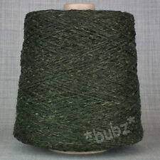 ANGORA WOOL BLEND YARN RUGBY TWEED 500g CONE 10 BALLS DOUBLE KNITTING DK DONEGAL