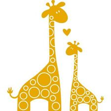 I LOVE YOU GIRAFFE Wall Art Decal Quote Words Lettering Decor Sticker Home