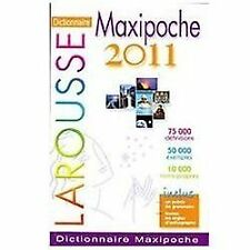 LAROUSSE DICTIONNAIRE MAXIPOCHE 2012 - NEW PAPERBACK BOOK