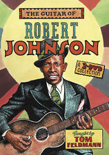 Tom Feldmann Teaches The Guitar Of Robert Johnson 3 DVD SET NEW!