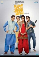 HAPPY BHAG JAYEGI - 2016 HINDI MOVIE DVD / REGION FREE / SUBTITLES / DIANA PENTY