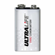 ultralife 9v lithium battery