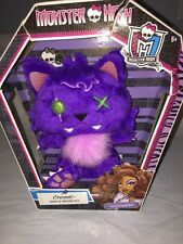 Monster High Crescent Plush Freaky Fabulous Pets Clawdeen Wolf NEW Free Ship