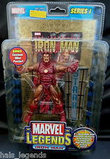 Marvel Legends Series I. IRON MAN Gold Variant New! Avengers. Rare!