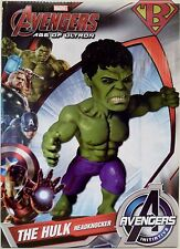 "THE HULK The Avengers Age of Ultron Movie 8"" Head Knocker Bobble Head Neca 2015"