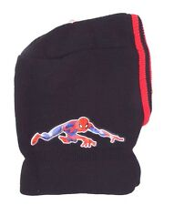Marvel The Spectacular Spider-Man Boy's Winter Ski Mask Hat One Size NWT
