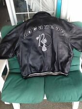 Rocawear Original Vintage 100% Leather Jacket 4XL  $$$ New Without Tags