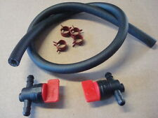 "2 Gas Fuel Cut Off Shut Off valve with 1/4"" fuel line Replace Briggs  John Deere"