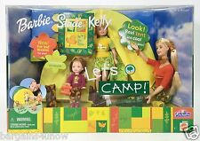 BARBIE STACIE KELLY LET'S CAMP GIFT SET NRFB