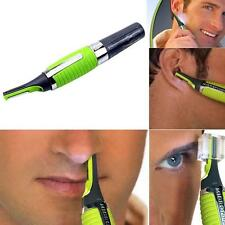 For men's mini shaver Hair nose ear Trimmer Clipper Electric scissor with LED RF