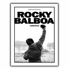 ROCKY BALBOA METAL SIGN WALL PLAQUE Film Movie Advert poster art print