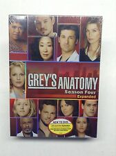 Sealed Grey's Anatomy Season Four Expanded Dvd 2008 Five Disc Set