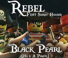 SIDNEY REBEL FEAT. HOUSEN - BLACK PEARL (HE IS A PIRATE)  CD SINGLE NEU
