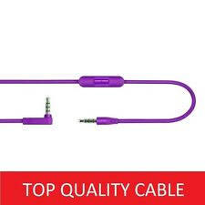 Purple Cable/Lead for Beats By Dre Headphones Solo HD/Studio Audio ControlTalk