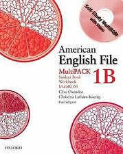 American English File Level 1b Student and Workbook, Multipack B