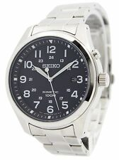 Seiko Kinetic Black Dial 100M SKA721 SKA721P1 SKA721P Mens Watch