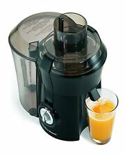 NEW! Hamilton Beach 67601A Powerful 800-watt Big Mouth Juice Extractor, Black