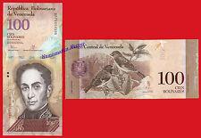 VENEZUELA 100 Bolivares 2015 Pick 93i  SC / UNC