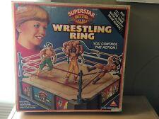 Vintage Super Star Wrestling Ring 1990 ( Sealed)