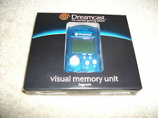 Genuine BRAND NEW BLUE VMU - VISUAL MEMORY UNIT -SEGA DREAMCAST - RARE