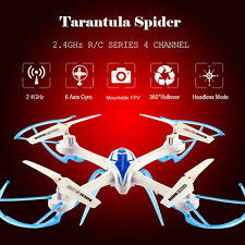 TARANTULA X6 2.4G 4CH 6-Axis 360° Rollover Mini RC Helicopter Headless Drone