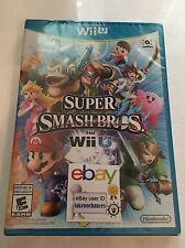 Super Smash Bros. Brothers Nintendo Wii U Brand New Factory Sealed Fast Ship