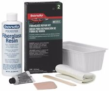 NEW 3M BONDO 420 FIBERGLASS REPAIR COMPLETE KIT 1/2 PINT 3 SQ FEET SALE 6476766