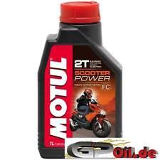 11.63 €/L MOTUL SCOOTER POWER 2t 1l due tempi olio pieno per sintesi