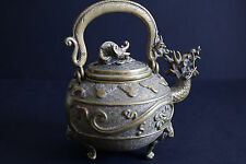 Old Chinese Brass Teapot