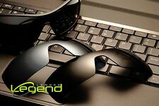 Legend Lenses for Oakley BATWOLF Dark Black &Titanium Mirror POLARIZED