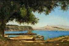 A3 Box Canvas Guigou Paul Camille Tamaris by the Sea at Saint Andre near Marseil