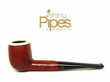 BLOCK MEERSCHAUM Leather Wrapped  Hilson Briar Estate Pipe AWESOME - z95