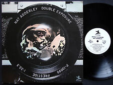 NAT ADDERLEY Double Exposure LP PRESTIGE P-10090 US 1975 JAZZ David Axelrod NM