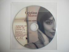 CRISTINA MAROCCO : L'AMOUR EXISTE ( 3 VERSIONS ) [ CD PROMO ] ~ PORT GRATUIT !